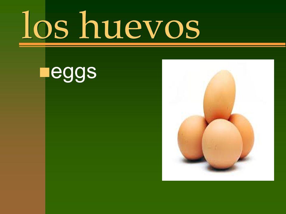 los huevos n eggs