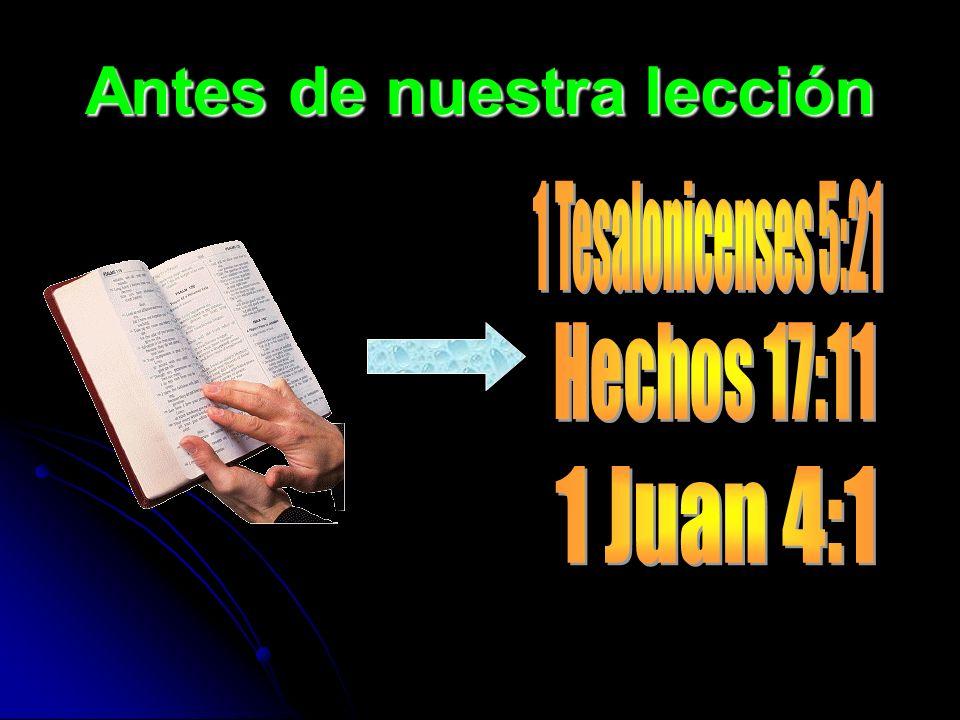 Hechos 17:11 Estos eran más nobles que los de Tesalónica, pues recibieron la palabra con toda solicitud, escudriñando diariamente las Escrituras, para ver si estas cosas eran así.