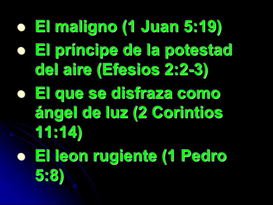 El Diablo No Quiere Que Sepas los siguientes versículos.