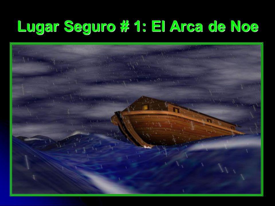 Solamente los que estaban en el arca fueron salvos. Solo 8 personas fueron salvas (1 Pedro 3:20)