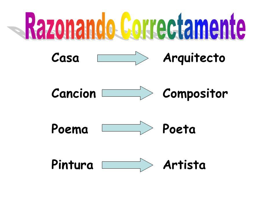 CasaArquitecto CancionCompositor Poema Poeta PinturaArtista