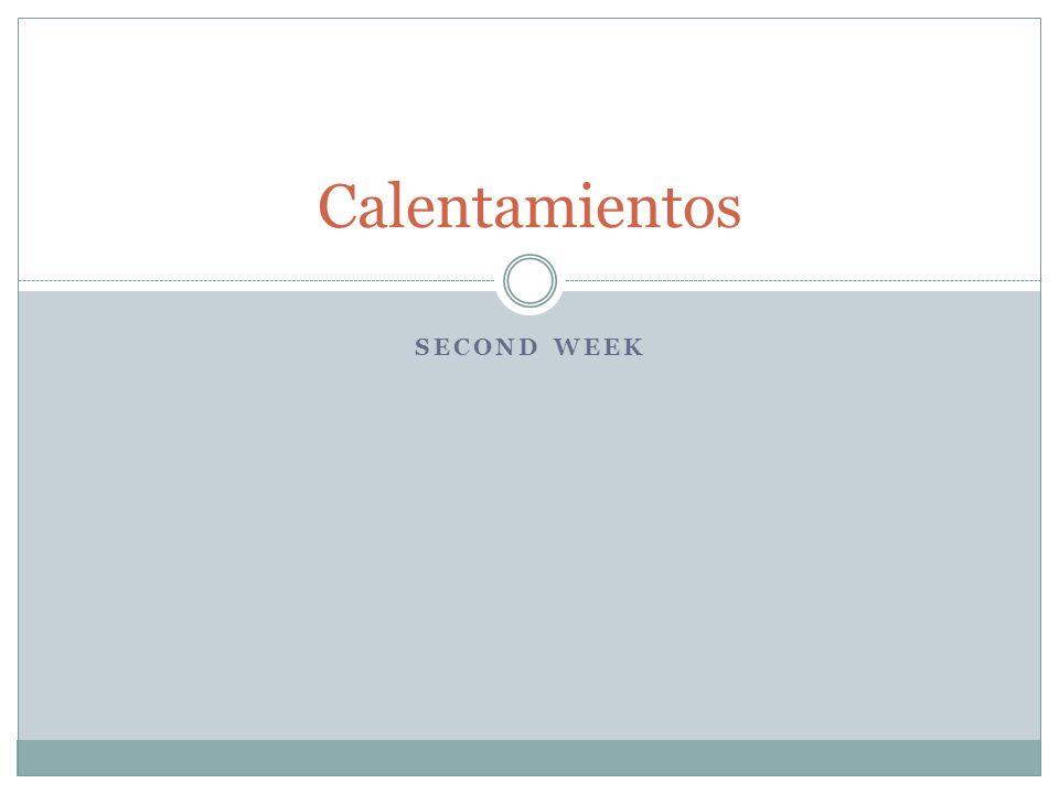 Hoy es el 4 de febrero de 2012 This will be graded based on language control.