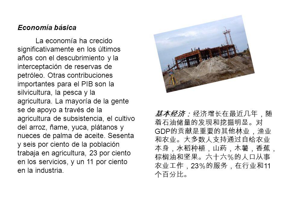 GDP 23 11 Economía básica La economía ha crecido significativamente en los últimos años con el descubrimiento y la interceptación de reservas de petró