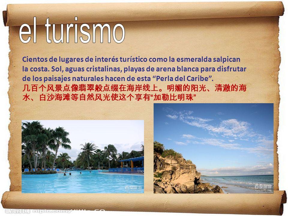 Cientos de lugares de interés turístico como la esmeralda salpican la costa. Sol, aguas cristalinas, playas de arena blanca para disfrutar de los pais