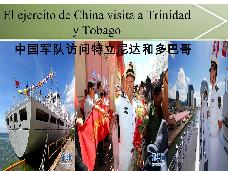 El ejercito de China visita a Trinidad y Tobago