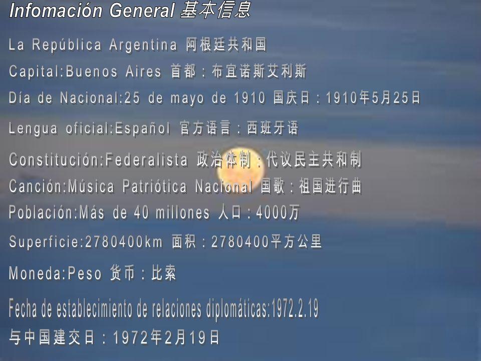 Geografía de la Argentina 2.791.810 km² La extensión de Argentina mide 2.791.810 km².