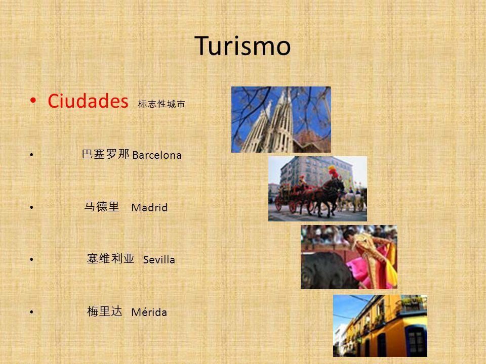 Turismo Ciudades Barcelona Madrid Sevilla Mérida