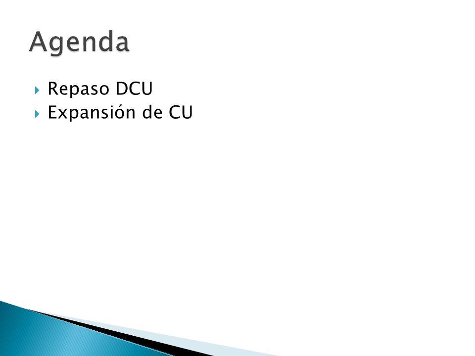 Repaso DCU Expansión de CU