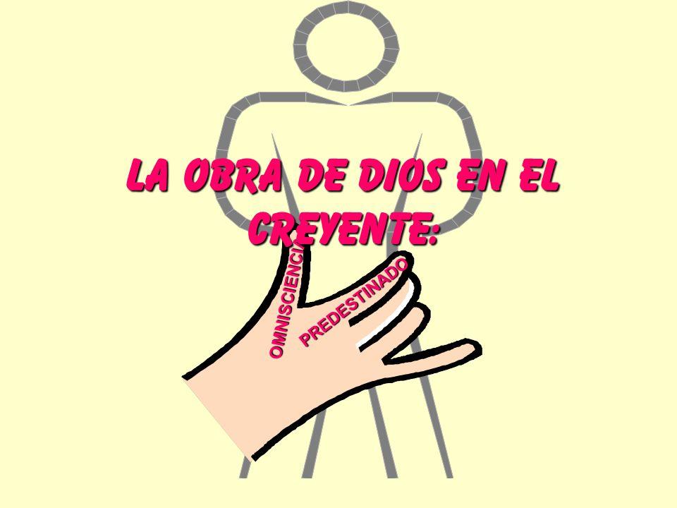 OMNISCIENCIA PREDESTINADO LA OBRA DE DIOS EN EL CREYENTE:
