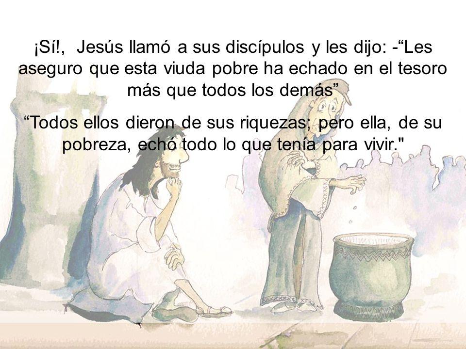 ¿Qué tal tú? ¿Le darías todo a Jesús?