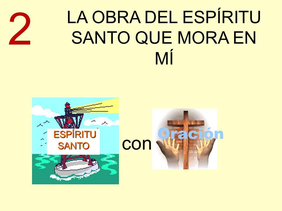 LA OBRA DEL ESPÍRITU SANTO QUE MORA EN MÍ ESPÍRITU SANTO ESPÍRITU SANTO con Oración 2