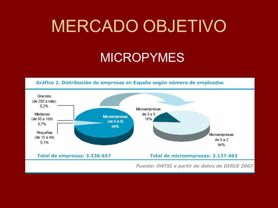 MERCADO OBJETIVO MICROPYMES