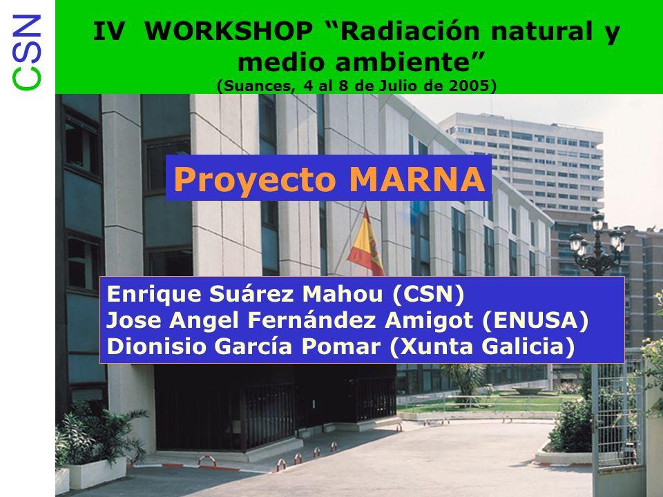 CSN 12. Proyecto Marna Espectro de terreno