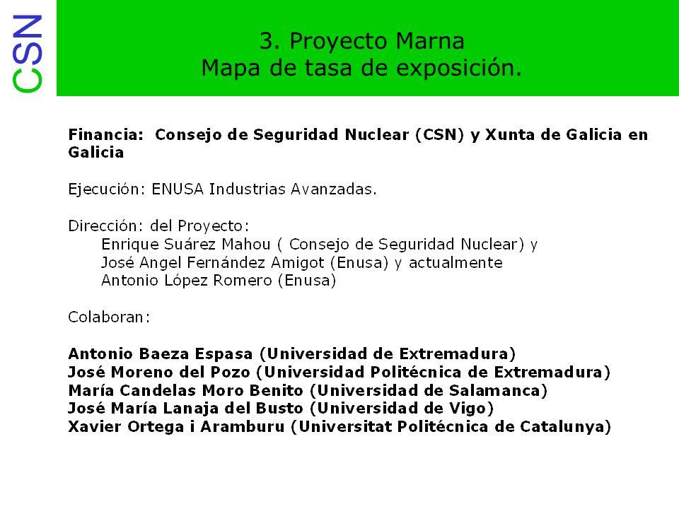 CSN 16. Proyecto Marna Emisión de radón al aire