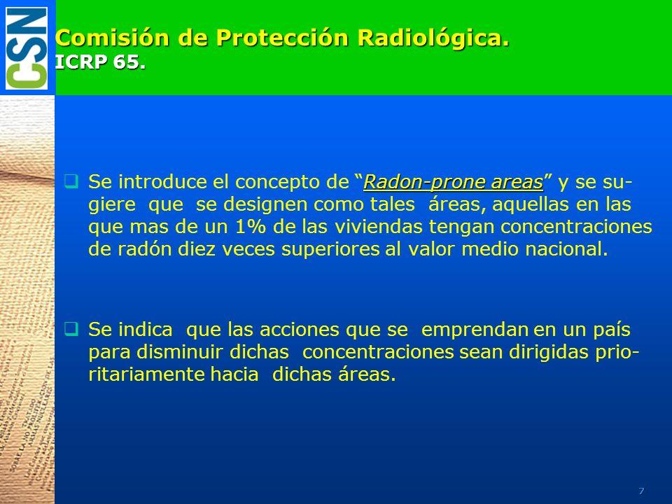 Institutos Nórdicos de Protección Radiológica.Recomendaciones 1986.