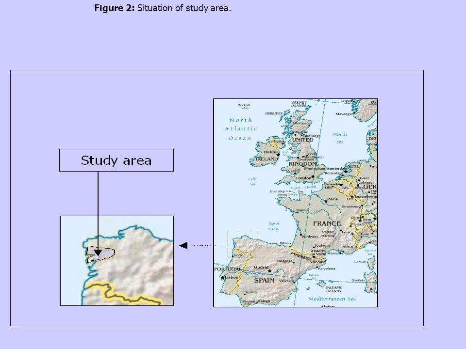Figure 2: Situation of study area.