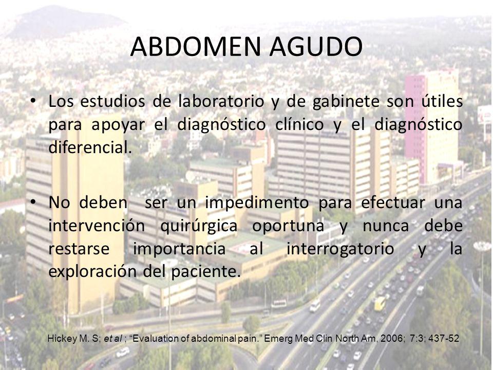 La apendicitis aguda es más frecuente en la adolescencia.
