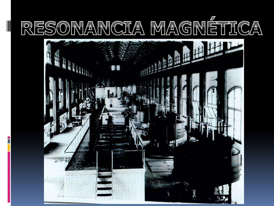 RESONANCIA NUCLEAR MAGNETICA Breve historia: - 1930 Usado para espectro atómico.