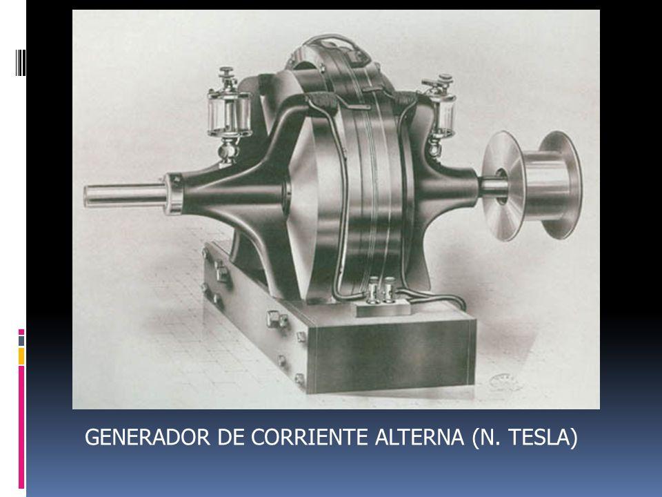 GENERADOR DE CORRIENTE ALTERNA (N. TESLA)