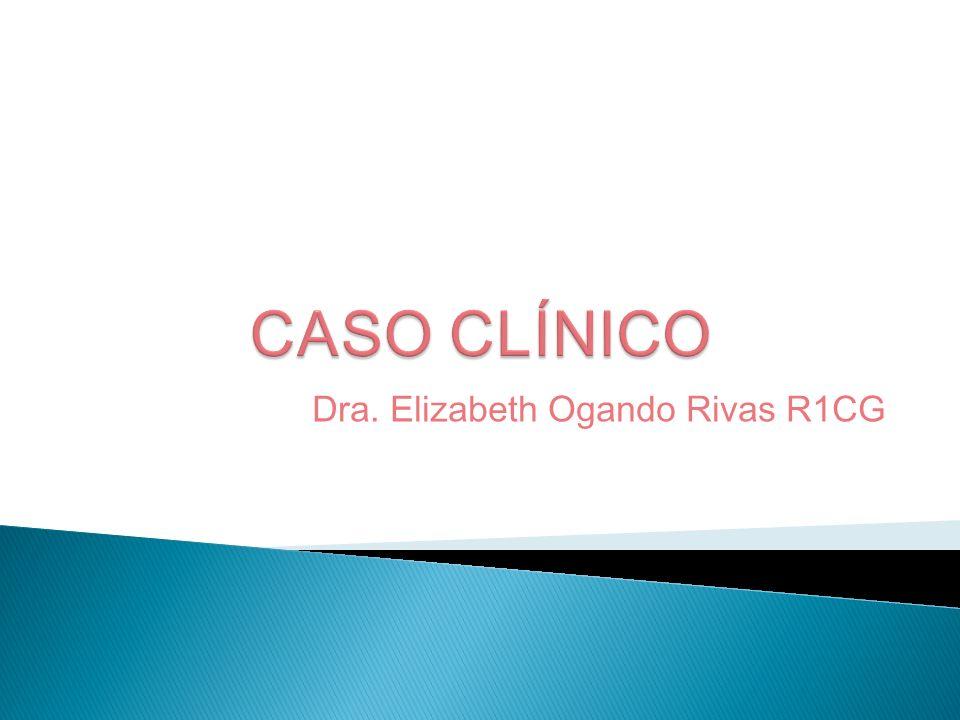 Dra. Elizabeth Ogando Rivas R1CG