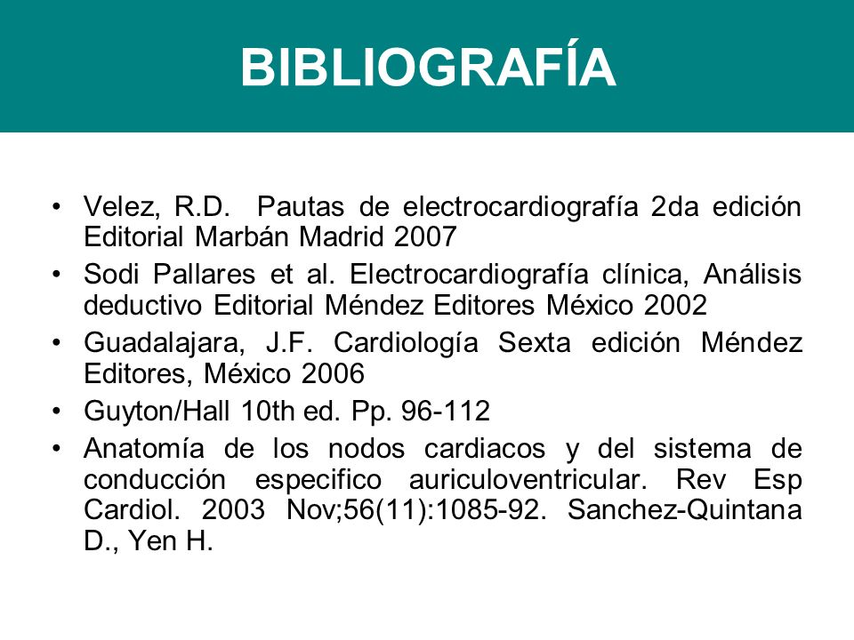 BIBLIOGRAFÍA Velez, R.D.