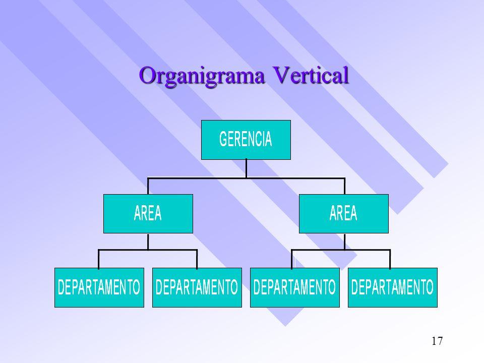 Organigrama Vertical 17