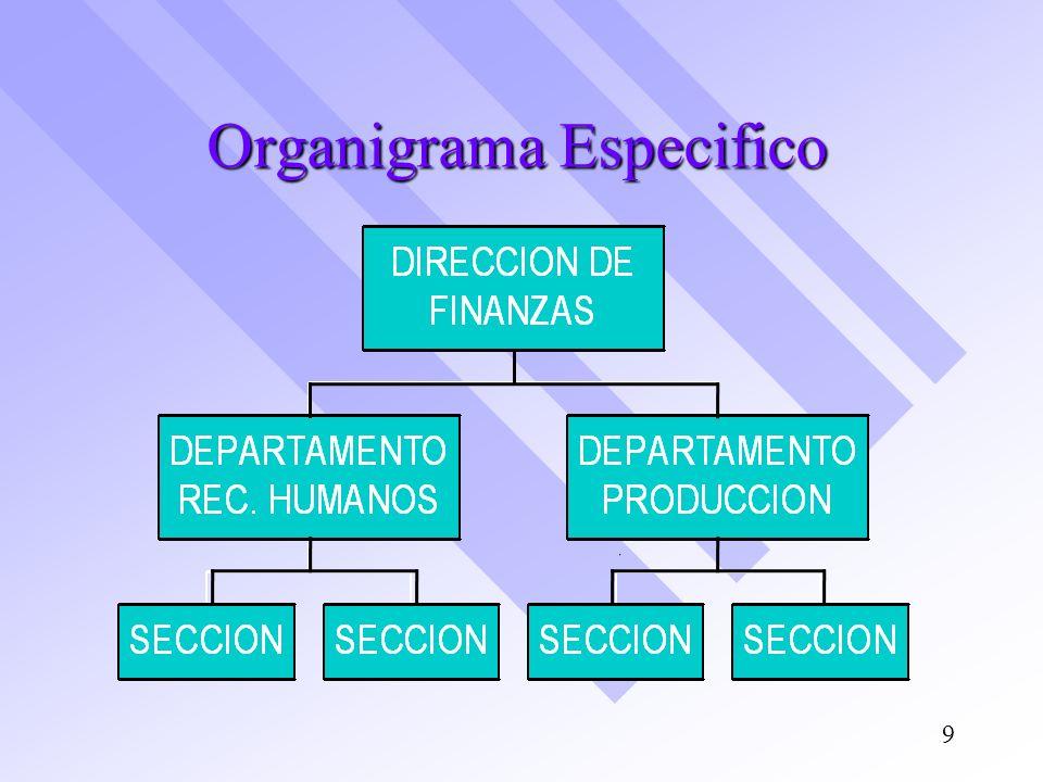 Organigrama Especifico 9