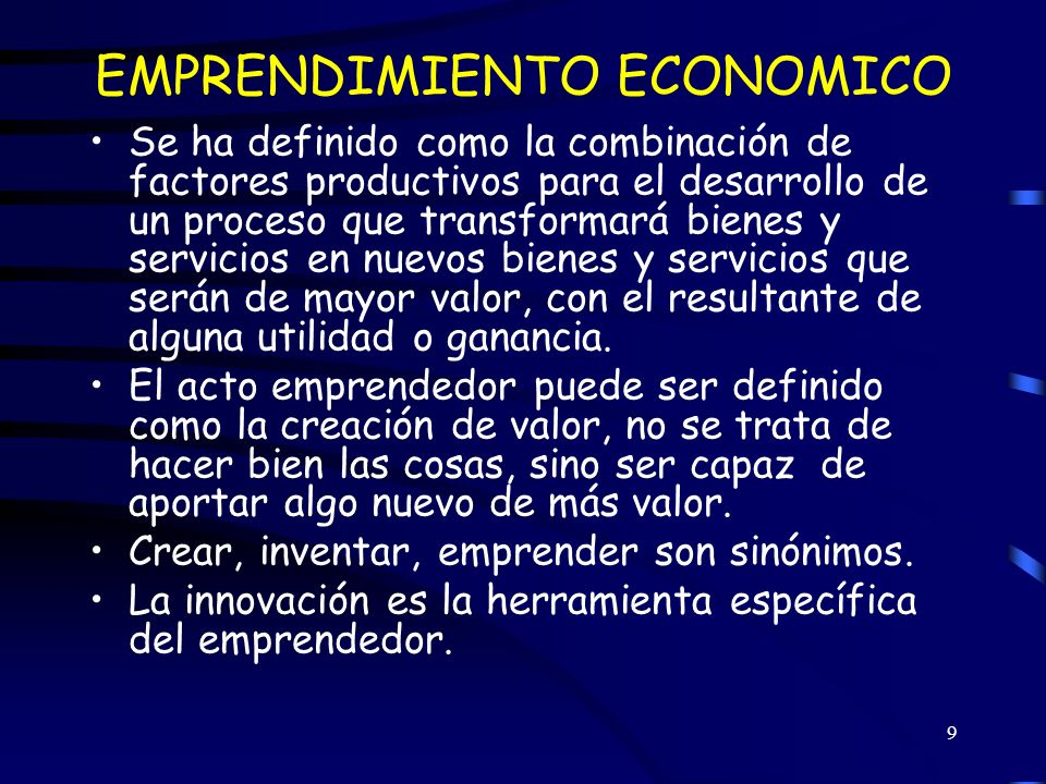 20 EL ESPIRITU EMPRESARIAL Se resume en la siguiente expresión: Espíritu empresarial + innovación = prosperidad a) El espíritu empresarial es el combustible del crecimiento económico b) El espíritu empresarial y la innovación son elementos importantes de los procesos creativos en la economía.