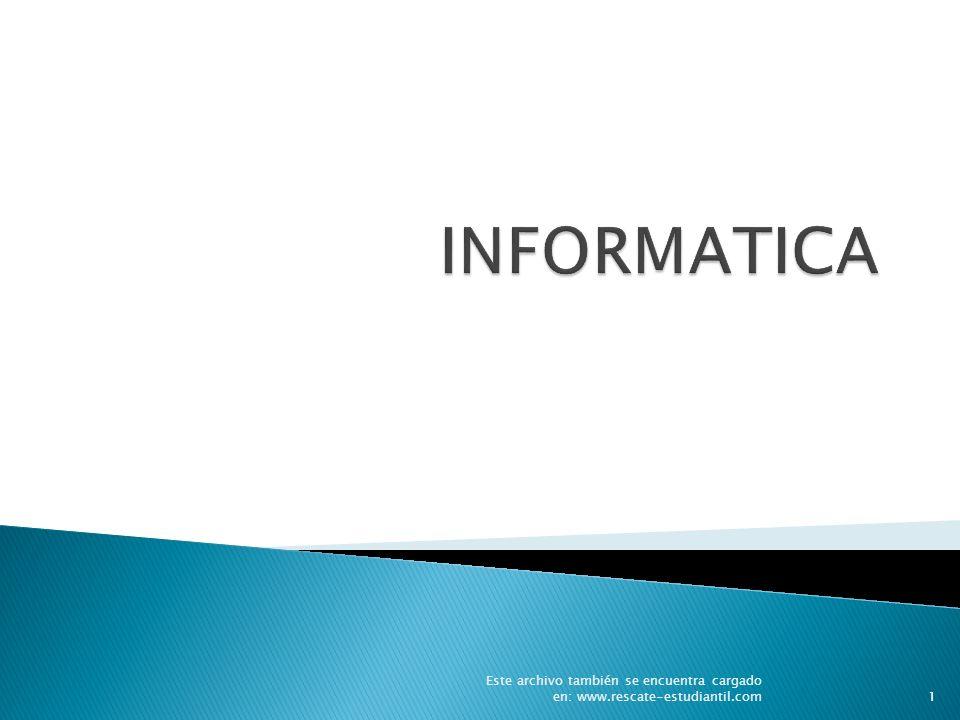 1 Este archivo también se encuentra cargado en: www.rescate-estudiantil.com