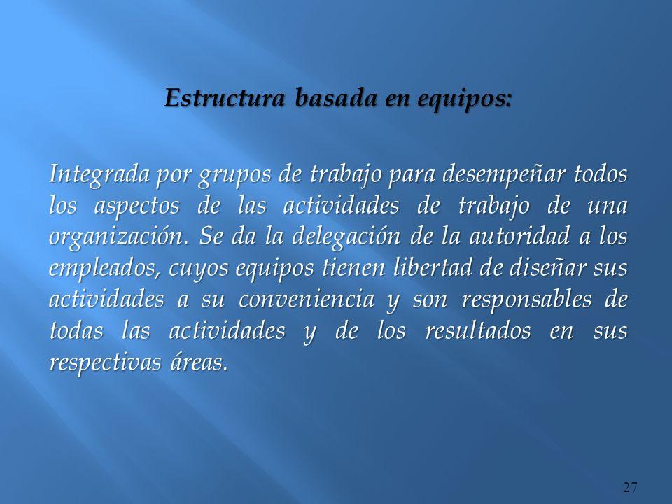 Organización sin fronteras: Diseño no está definido o limitada a fronteras impuestas por una estructura predefinida.