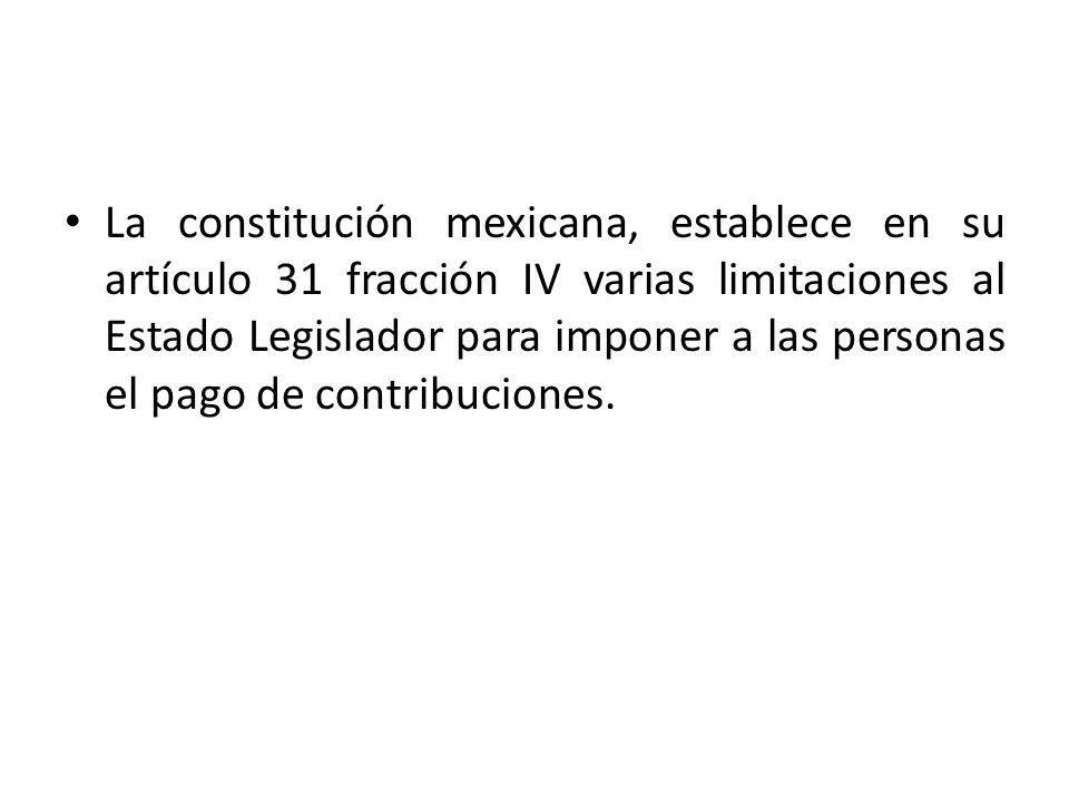 Artículo 31.Son obligaciones de los mexicanos: … IV.