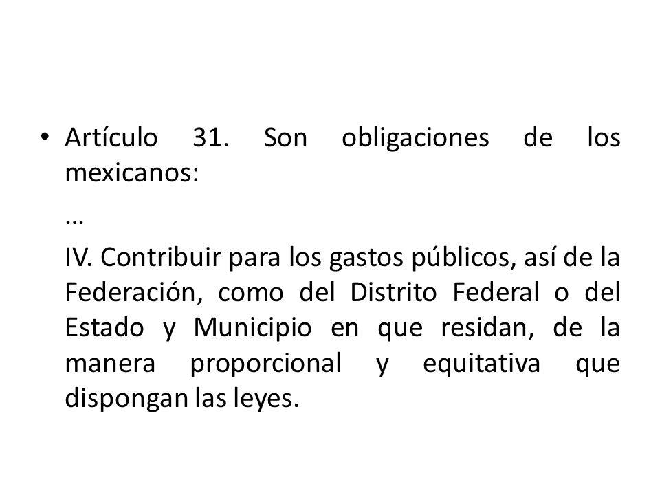 En el Derecho Tributario Mexicano se han establecido como principios tributarios, los de proporcionalidad, equidad, legalidad y destino -gasto público-, y contienen los derechos fundamentales de capacidad contributiva, igualdad tributaria y reserva de Ley, a los cuales me referiré a continuación.