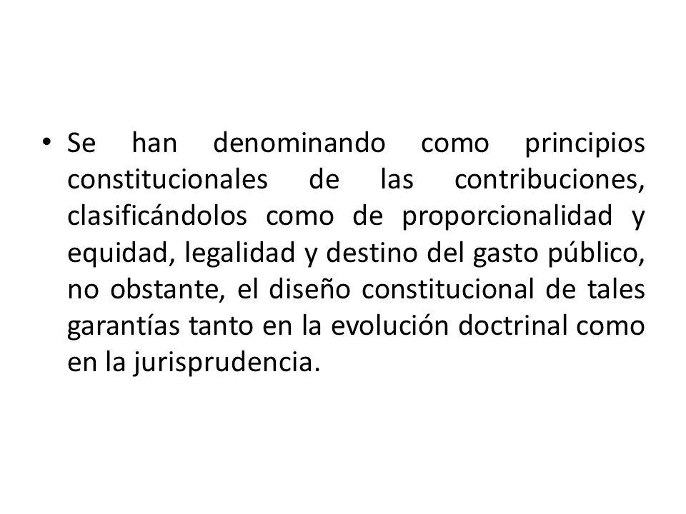 Capacidad contributiva La fracción IV del artículo 31 constitucional, establece como obligación de los mexicanos contribuir para los gastos públicos …de la manera proporcional…, Constituyendo el fundamento del principio de proporcionalidad tributaria, el cual, se vincula en el sistema tributario mexicano con el principio de capacidad contributiva.