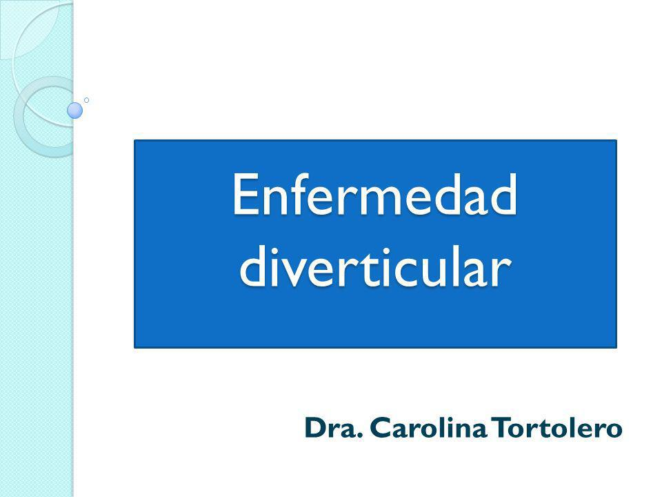 Tipos de diverticulos: Los divertículos del colon derecho (divertículos verdaderos) son habitualmente congénitos.