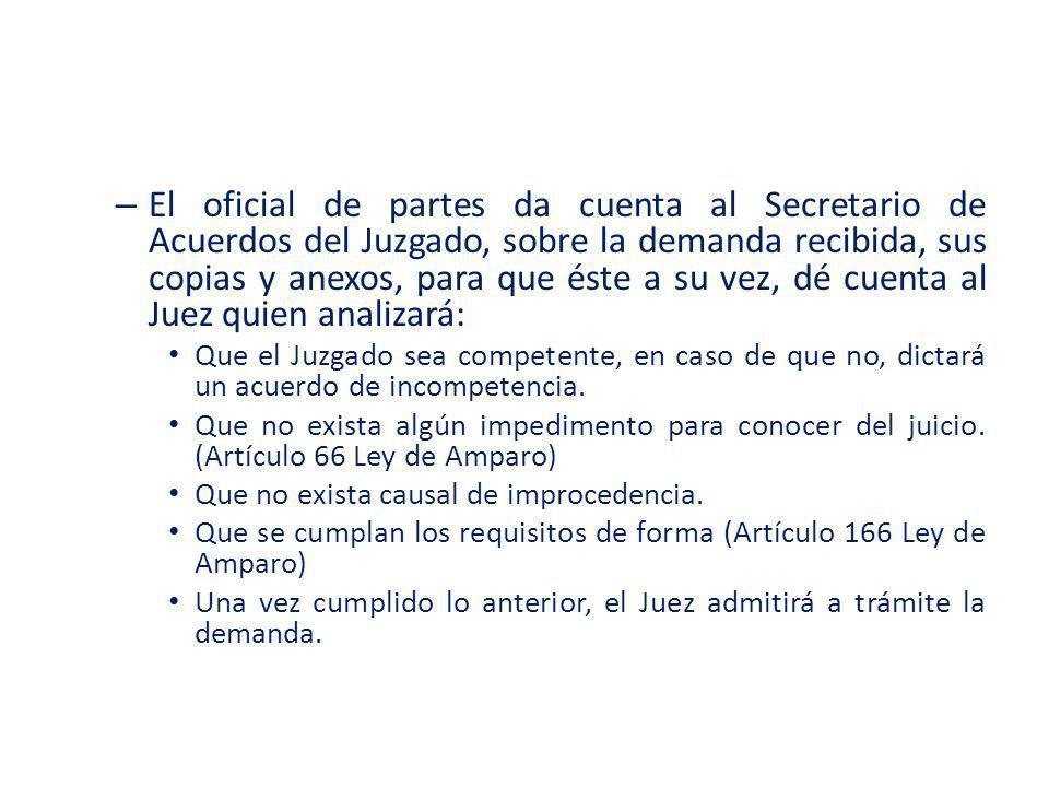 TIPOS DE ACUERDOS DEL JUEZ.