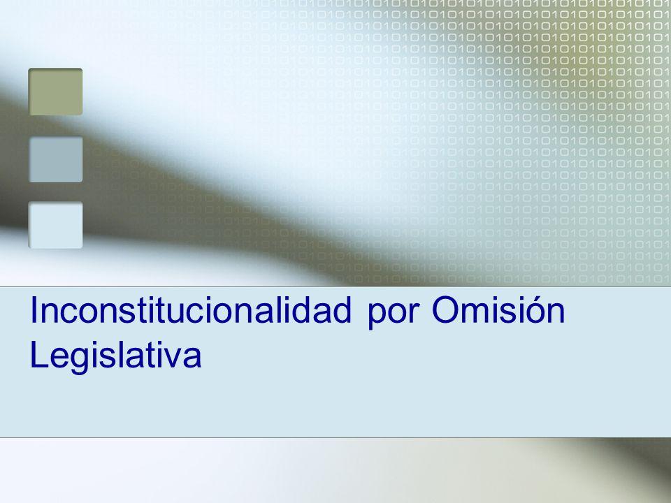 Otra forma de tutelar a nivel local el problema de omisiones legislativas es el que ofrece la Constitución del Estado de Veracruz donde, a partir de la reforma integral a su texto llevada a cabo en el año 2000, se consigna expresamente el proceso de control de la constitucionalidad derivado de la inactividad legislativa.
