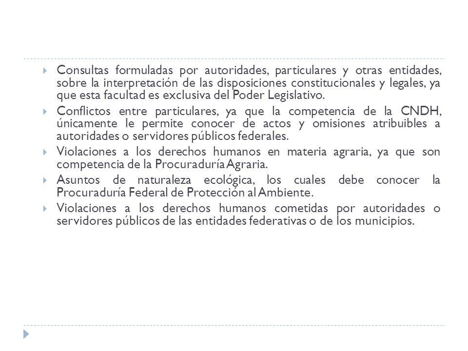 Consultas formuladas por autoridades, particulares y otras entidades, sobre la interpretación de las disposiciones constitucionales y legales, ya que
