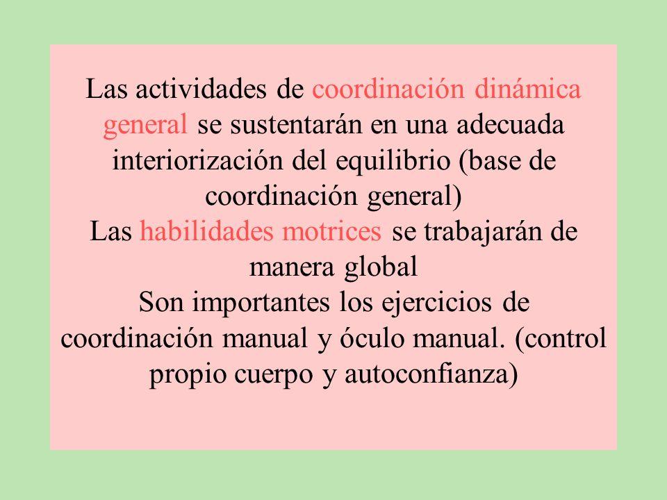 CREATIVA: Buscar la creatividad del alumno P. Linares (1993) la metodología a utilizar proporcionará una uniformidad en los ejercicios de equilibració