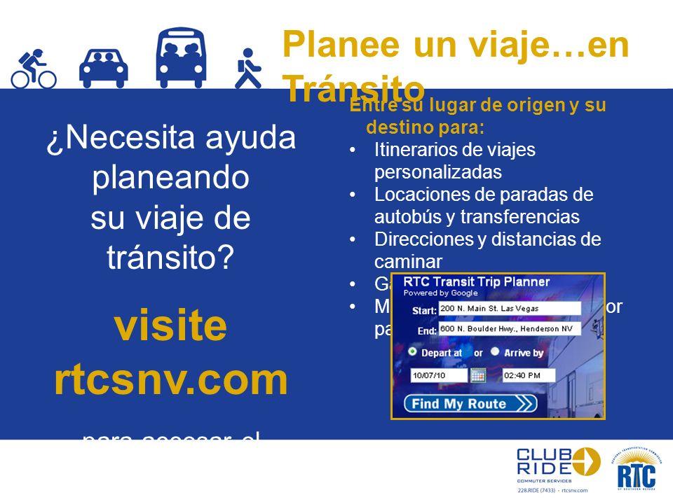 Planee un viaje…en Tránsito Entre su lugar de origen y su destino para: Itinerarios de viajes personalizadas Locaciones de paradas de autobús y transf