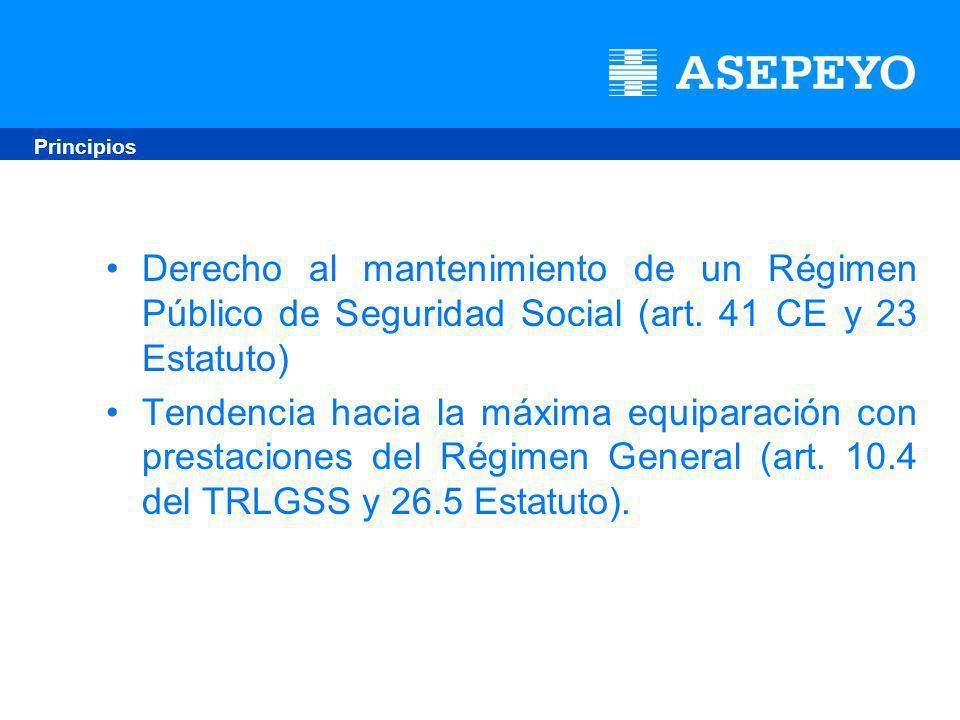 Derecho al mantenimiento de un Régimen Público de Seguridad Social (art.