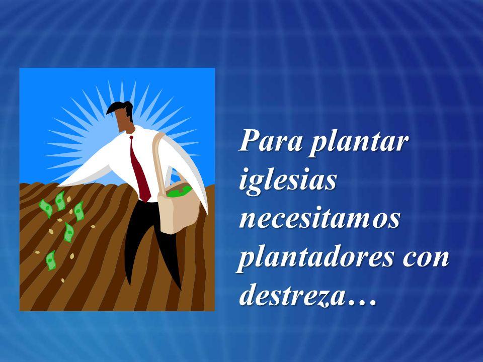 El plantador no debe ser un hacelotodo, debe usar los dones de otros en varios aspectos del ministerio.
