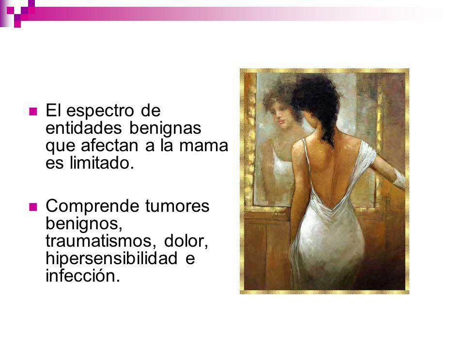 Ecografía mamaria.Diferencia si se trata de una lesión sólida o quística.