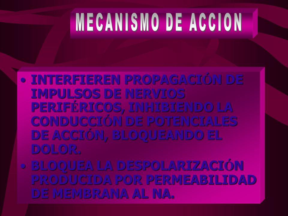 Procaína: 6 % Procaína: 6 % Lidocaína: 67 % Lidocaína: 67 % Ropivacaina: 94 % Ropivacaina: 94 % Bupivacaína: 97 % Bupivacaína: 97 %