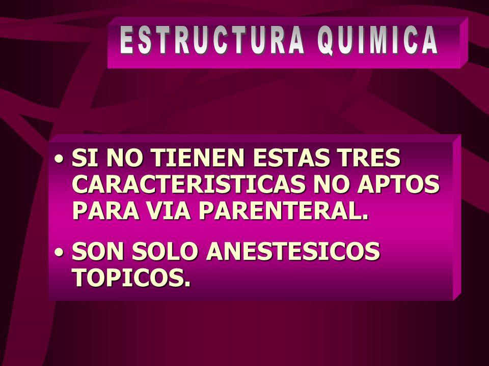 TOXICIDAD O SOBREDOSIS 1.CONVULSIONES 2.COMA 3.PARO RESPIRATORIO 4.DEPRESION DE NUCLEOS SNC.