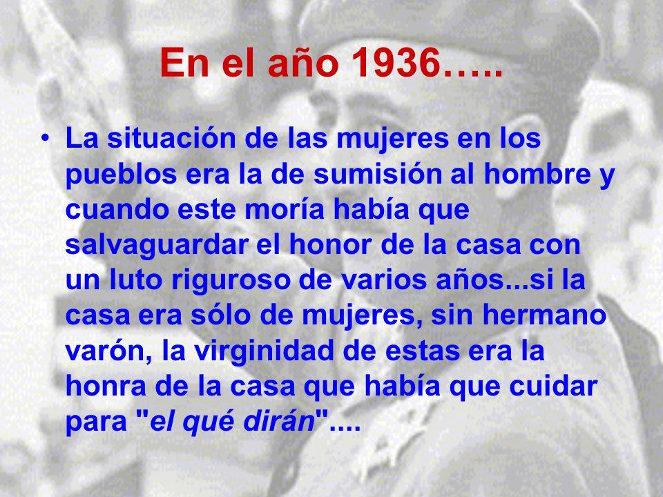 En el año 1936…..
