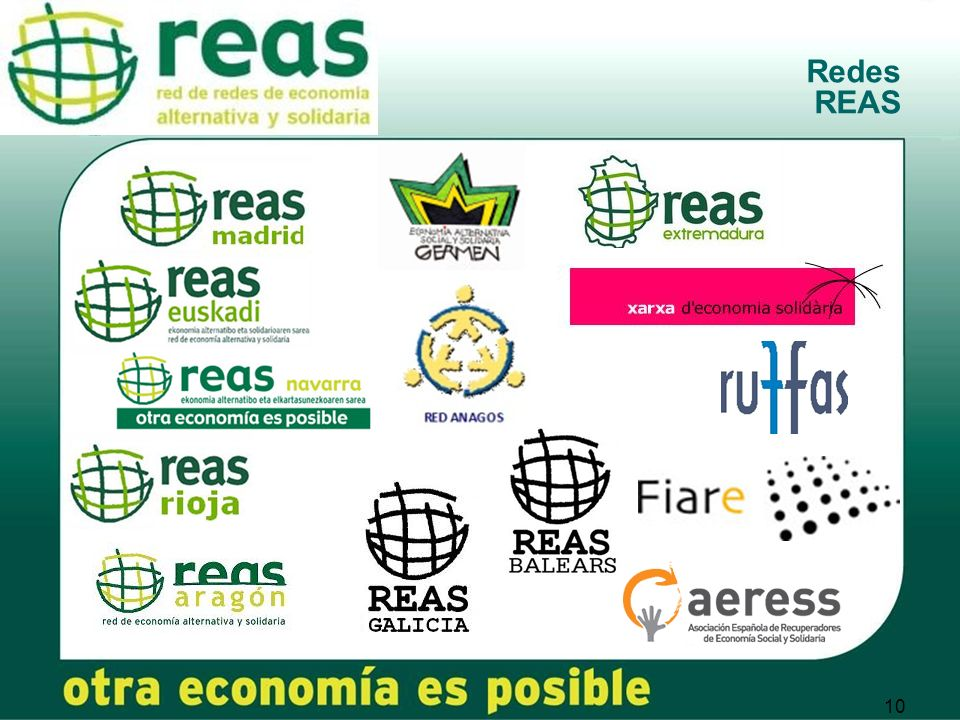 10 Redes REAS