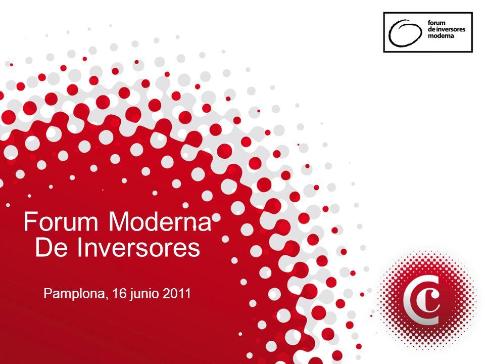 Forum Moderna De Inversores Pamplona, 16 junio 2011