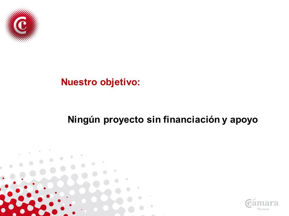 Nuestro objetivo: Ningún proyecto sin financiación y apoyo