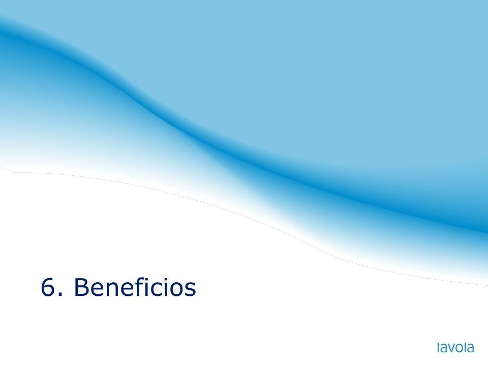6. Beneficios