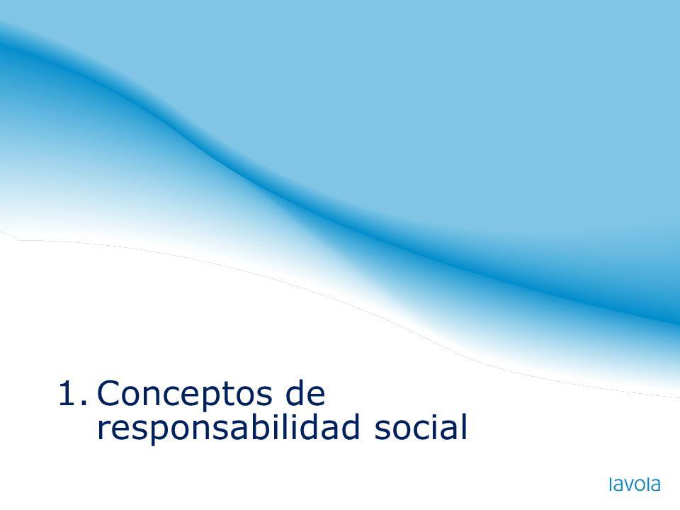 1.Conceptos de responsabilidad social